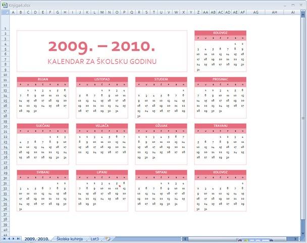 Kalendari Godinu